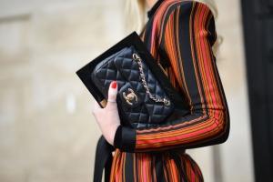Street Style - Paris Fashion Week - Womenswear Spring/Summer 2016 : Day Eight