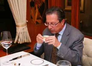 Nicolas de Barry at the Orient Express restaurant at Taj Palace, New Delhi