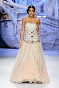 A look from JJ Valaya's collection at India Bridal Week