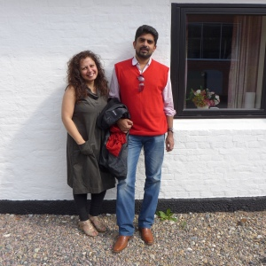 Sumedh and Masooma in Denmark