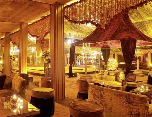 Rohit Bal's wedding decor theme