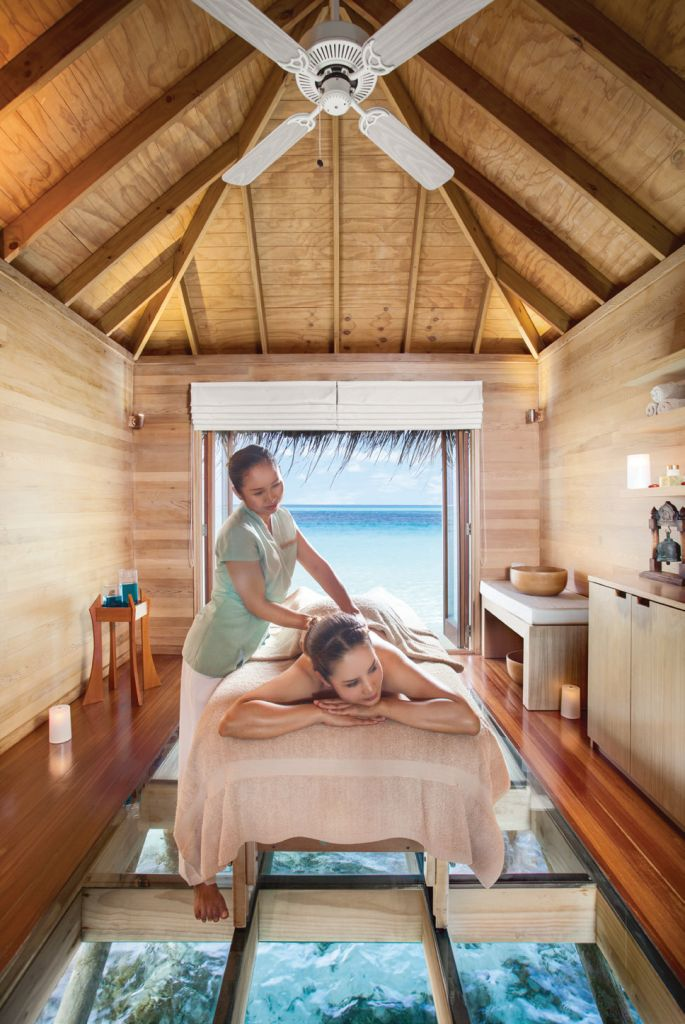 The spa at Conrad, Maldives