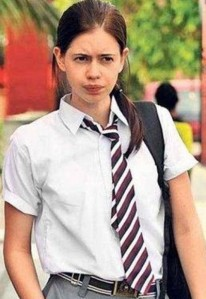 In a role inspired by the DPS MMS scandal, a still of actress Kalki Koechlin in the Bollywood film Dev D