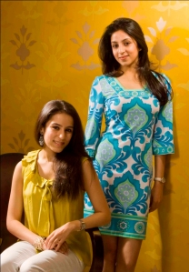 (L-R) Madhvi Khaitan and Radhika Khaitan Mittal