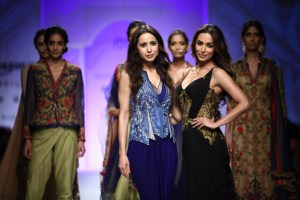 Designer Mandira Wirk and Malaika Arora
