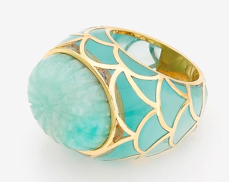 Infinite-Petals-Amazonite-Stone-&-Blue-Chacedony-Resin-ring-R1560-32-363-426b