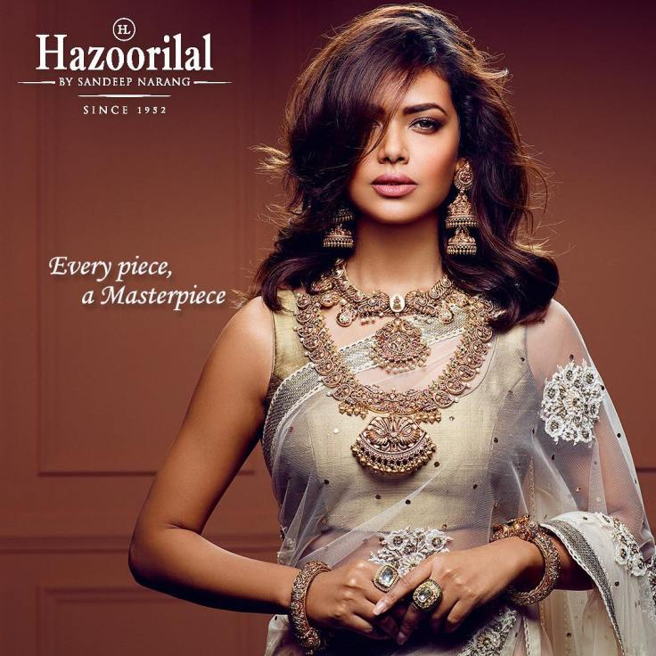 Esha Gupta for Hazoorilal