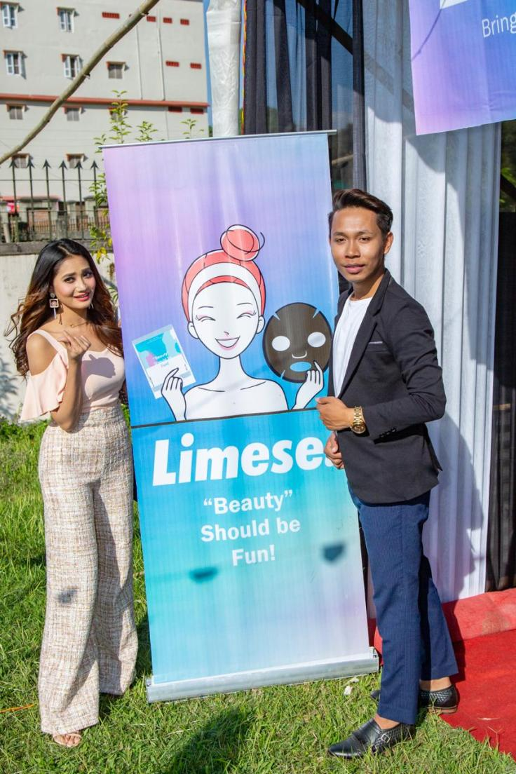 Limese sponsor for K-BeautyCon Imphal