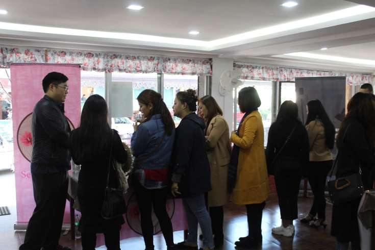 Seoul Made counter at K-BeautyCon Gangtok